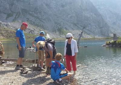 Familienausflug auf's Nassfeld